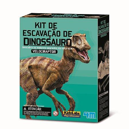 Kit de Escavação de Dinossauro Velociraptor