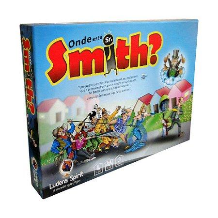 Jogo Onde Está Sr. Smith?