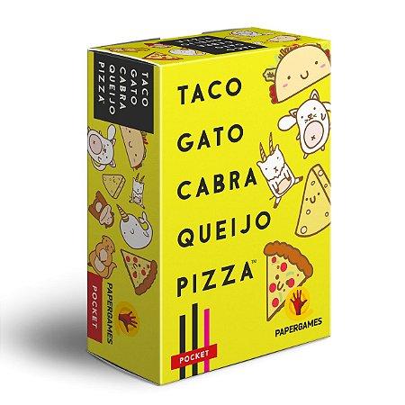 Taco, Gato, Cabra, Queijo, Pizza