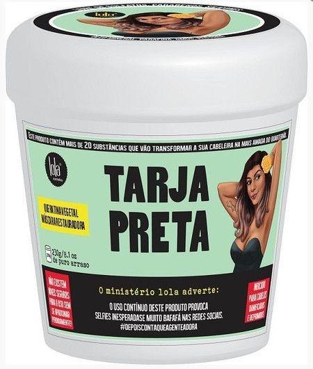 Máscara Restauradora Tarja Preta 230g - LOLA COSMÉTICS