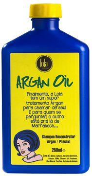 Shampoo Argan Oil Pracaxi 250ml - Lola Cosmétics
