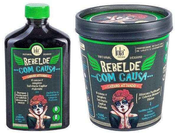 Kit Purificante Rebelde Com Causa (Cabelos Oleosos) - Lola Cosmétics