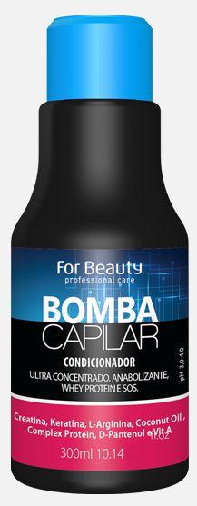Shampoo Bomba Capilar 300ml - For Beauty