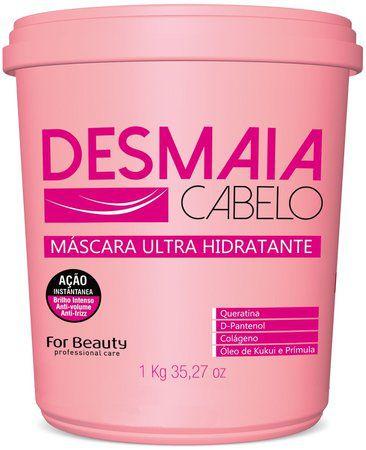 Máscara Desmaia Cabelo 1kg - For Beauty