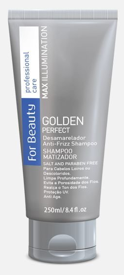 Shampoo Matizador Goldem Perfect 250ml - For Beauty
