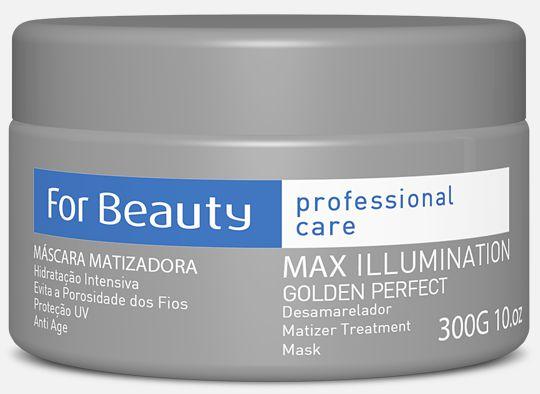 Máscara Matizadora Goldem Perfect 300g - For Beauty