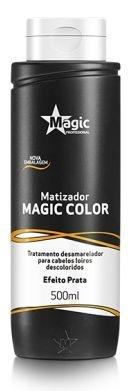 Magic Color Matizador tradicional Efeito Prata 500ml - Magic Professional