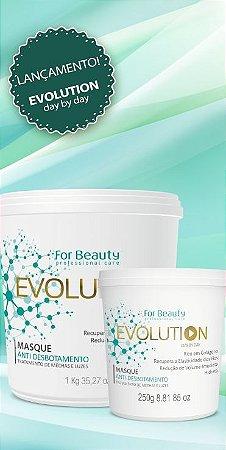 Máscara Evolution (antidesbotamento e flexibilidade) - For Beauty