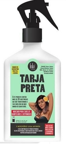 Spray Tarja Preta (banho de queratina) 250ml- LOLA COSMÉTICS