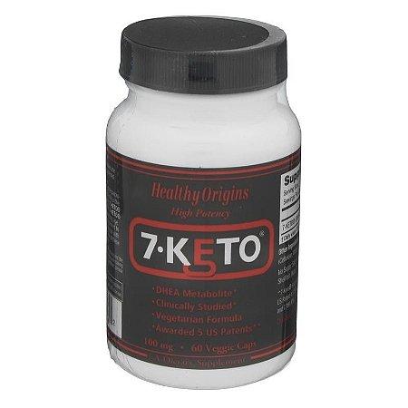 7-KETO DHEA 100MG (60 CÁPSULAS) - HEALTHY ORIGINS