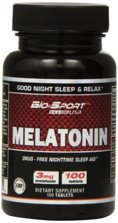 Melatonina 3mg (100 Tabletes) - BIO-SPORT