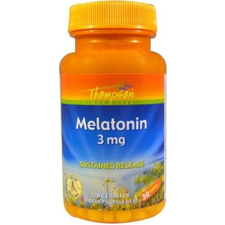 MELATONINA 3MG (LIBERAÇÃO GRADUAL) 30 CAPS - THOMPSON