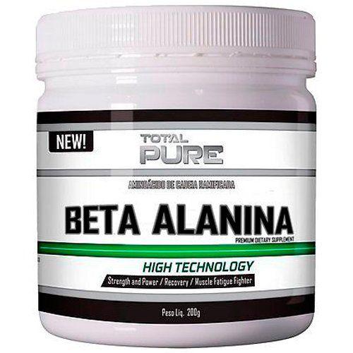 Beta Alanina 200g Total Pure