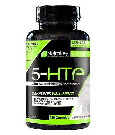 5-HTP 100mg (120 Cápsulas) - Nutrakey