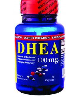 Dhea 100mg (60 Cápsulas) - Earth's Creation