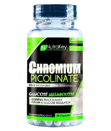 Cromo Picolinato 100 Cápsulas Nutrakey