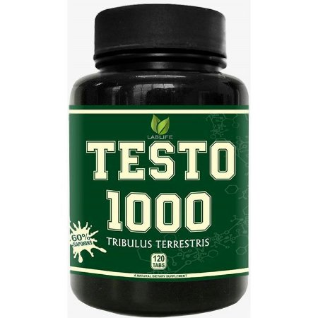 TRIBULUS TERRESTRIS TESTO 1000 (120 TABLETES) - LABLIFE