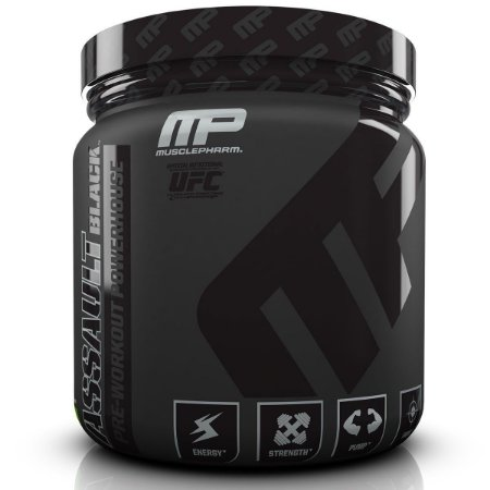 ASSAULT BLACK (348g) - MUSCLEPHARM