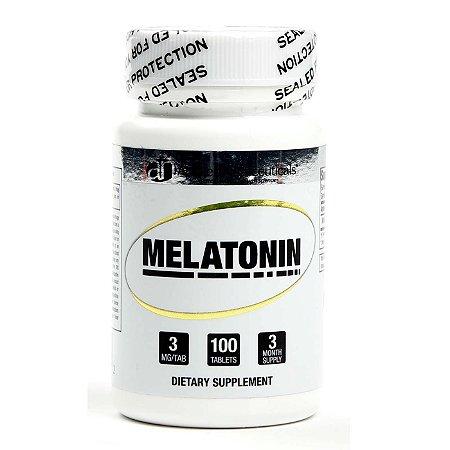 Melatonina 3MG (100 Tabletes) - Applied Nutriceuticals