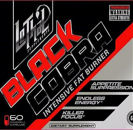 Black Cobra 60 CápsulasLethal Supplements