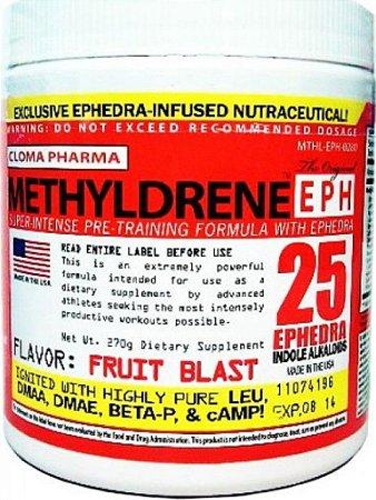 Pré-Treino Methyldrene Efedrina (45 Doses) - Cloma Pharma