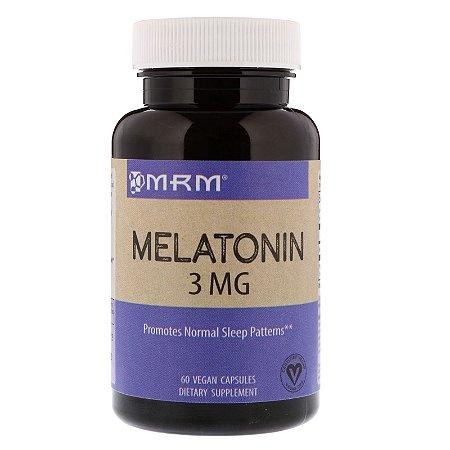 Melatonina 3mg (60 Cápsulas) - MRM