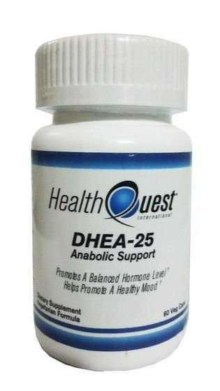 Dhea 25mg (60 Cápsulas) - Helth Quest