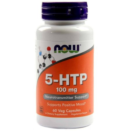 5-Htp 100mg (60 Cápsulas) - Now Foods