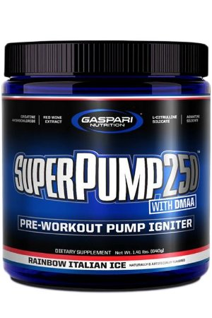 Super Pump 250 (30 doses) - Gaspari Nutrition