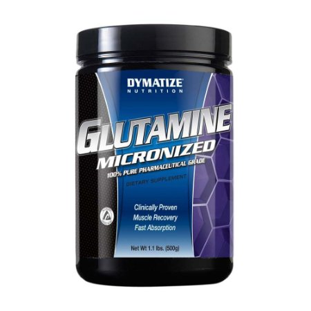 GLUTAMINA MICRONIZADA (500 GRAMAS) - DYMATIZE NUTRITION