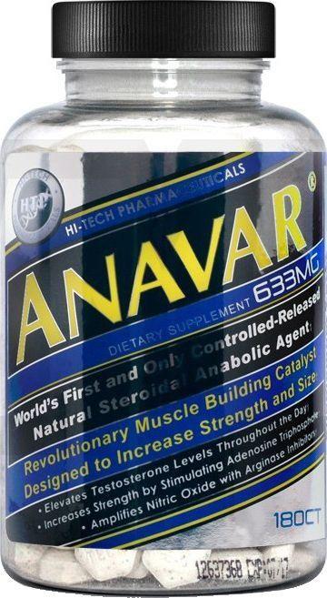 Anavar(180 Tabletes) - Hi Tech