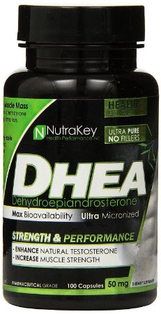 Dhea 50mg (100 Cápsulas) - Nutrakey