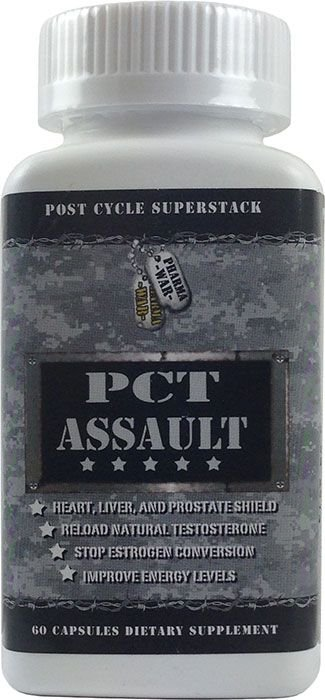 Pct Assault (60 Cápsulas) - Pharma War