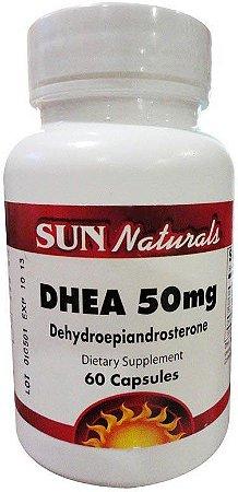 Dhea (60 Cápsulas) - Sun Naturals
