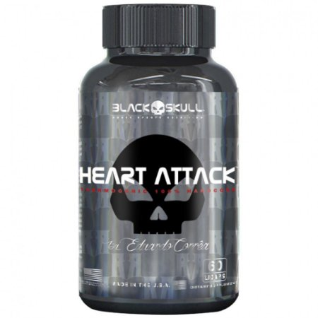 Heart Attack (60 Cápsulas) - Black Skull