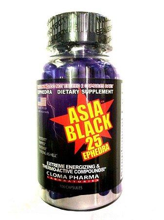Asia Black (100 Cápsulas) - Cloma Pharma
