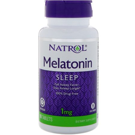 Melatonina 1mg (90 Comprimidos) Liberação lenta - Natrol