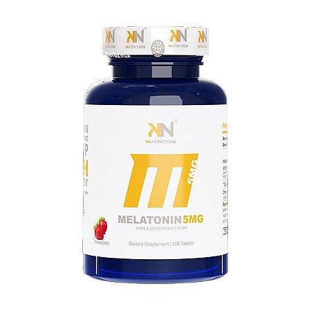 Melatonina Sublingual 5mg (100 tabs) - Kn Nutrition