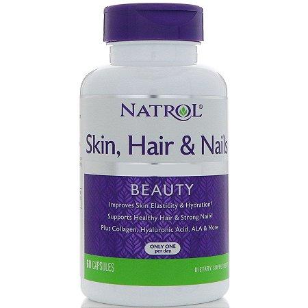Hair, Skin & Nails 60 Cápsulas Natrol