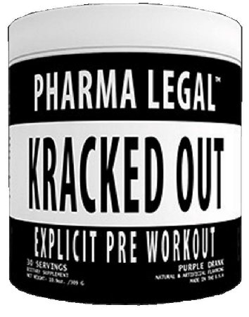 Pré-Treino Kracked Out (30 doses) - Pharma Legal