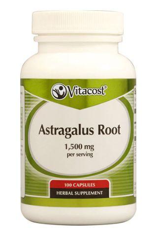 Astragalus 1500mg (100 Cápsulas) - Vitacost