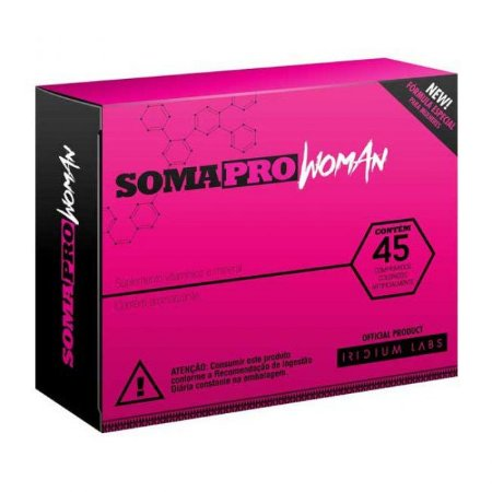 Soma Pro Woman 45 Cápsulas - Iridium Labs