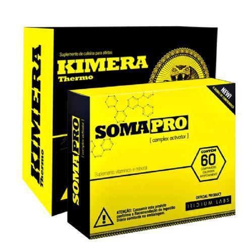 Kit SomaPro 60 Cápsulas + Kimera Thermo 60 Cápsulas - Iridium Labs