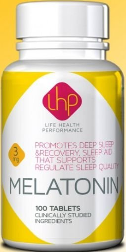 Melatonina 3mg (100 Cápsulas) - LHP