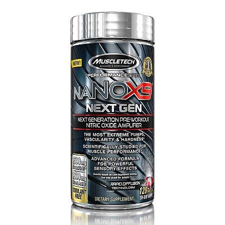 Nano X9 Next Gen 120 Cápsulas MuscleTech