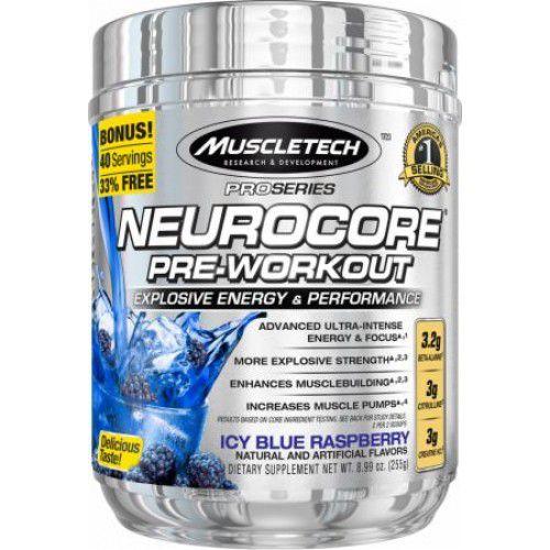Pré-Treino Neurocore (40 doses) - Muscletech