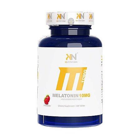 Melatonina Sublingual 10mg 100 tabletes KN Nutrition
