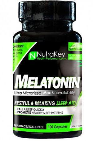 Melatonina 3mg (100 Cápsulas) - NutraKey