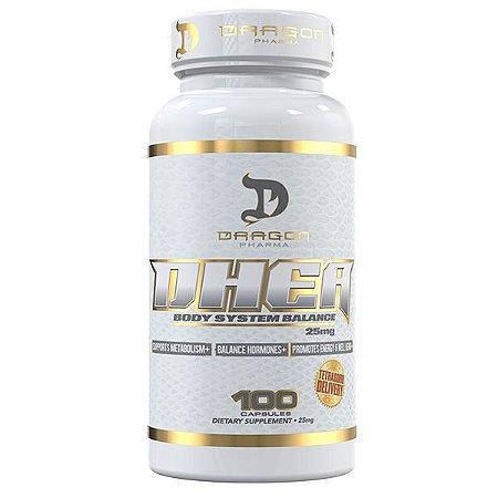 Dhea 25mg (100 Cápsulas) - Dragon Pharma
