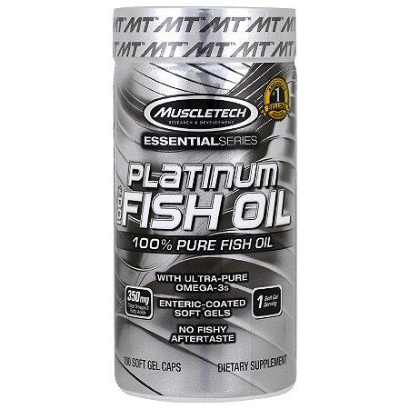 Platinum 100% Fish Oil 100 Cápsulas - Muscletech